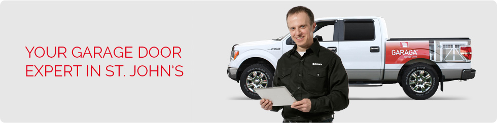 Your garage door expert in St. John's